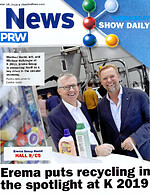 K 2019: EREMA at the front page – extensive media coverage & publicity