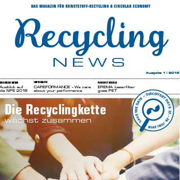 NEU: EREMA Recycling News 2018