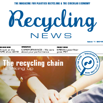 OUT NOW: EREMA Recycling News 2018