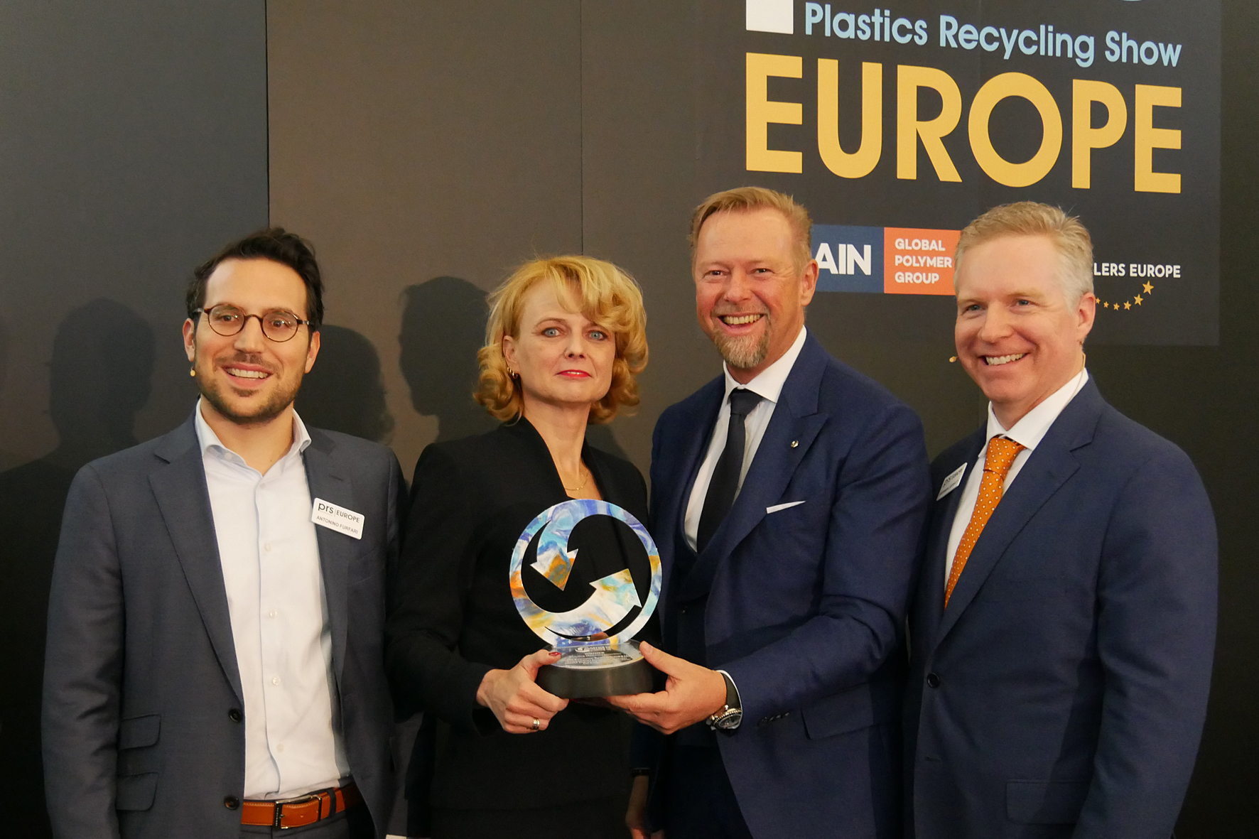 Interseroh and EREMA Win Plastics Recycling Awards Europe 2019
