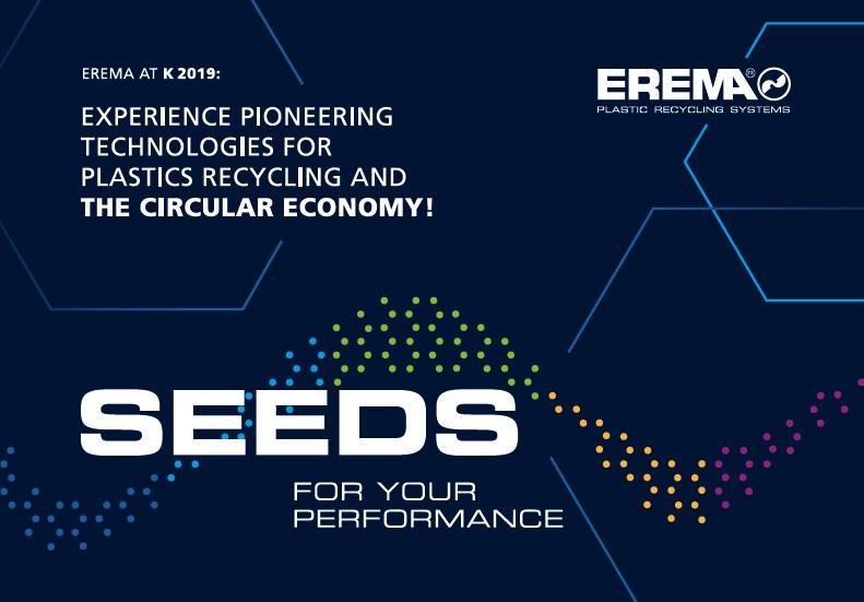 EREMA Plastic Recycling Machine & Plastic Recycling Plant
