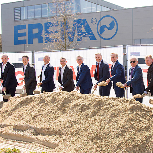 EREMA Group increases turnover by 16 percent